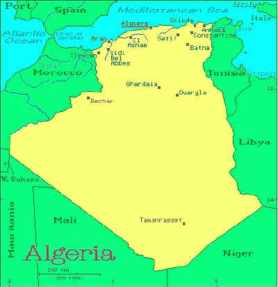 Algeria African Countries Gateway Africa Safaris