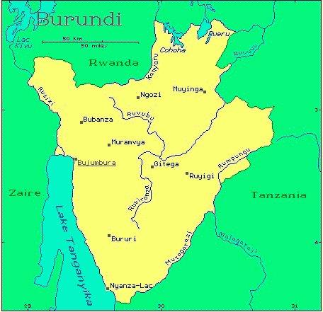 Burundi African Countries Gateway Africa Safaris
