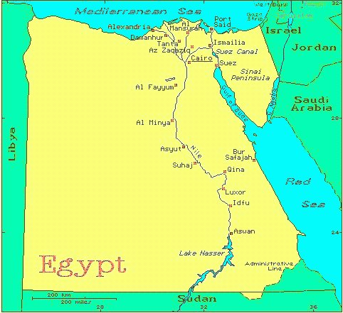 Egypt African Countries Gateway Africa Safaris - Where is egypt