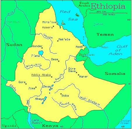 Ethiopia North African Countries Gateway Africa