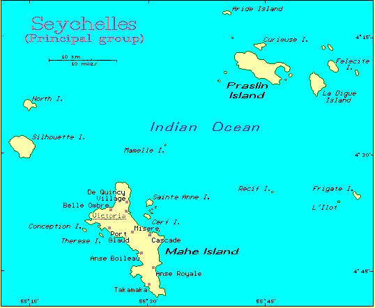 Seychelles   African Island Countries | Gateway Africa Safaris