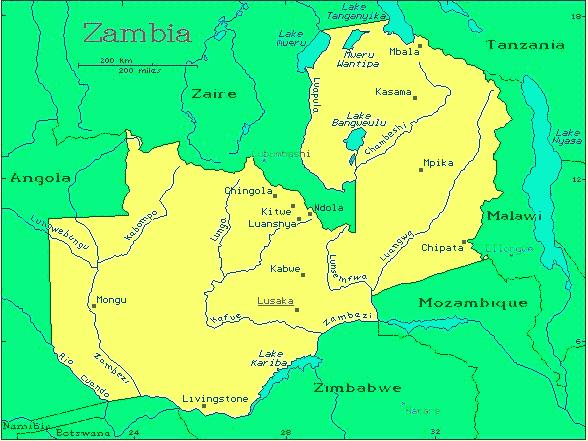 Zambia African Safari Destinations Gateway Africa Safaris