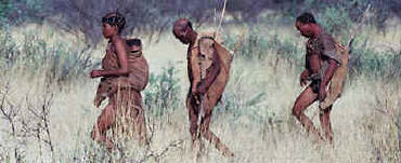 The Bushmen, first people of Africa - San Tribe
