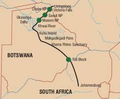 Affordable and comfortable tours exploring the best of Botswana