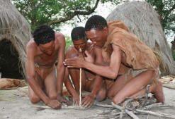 kalahari bushmen food